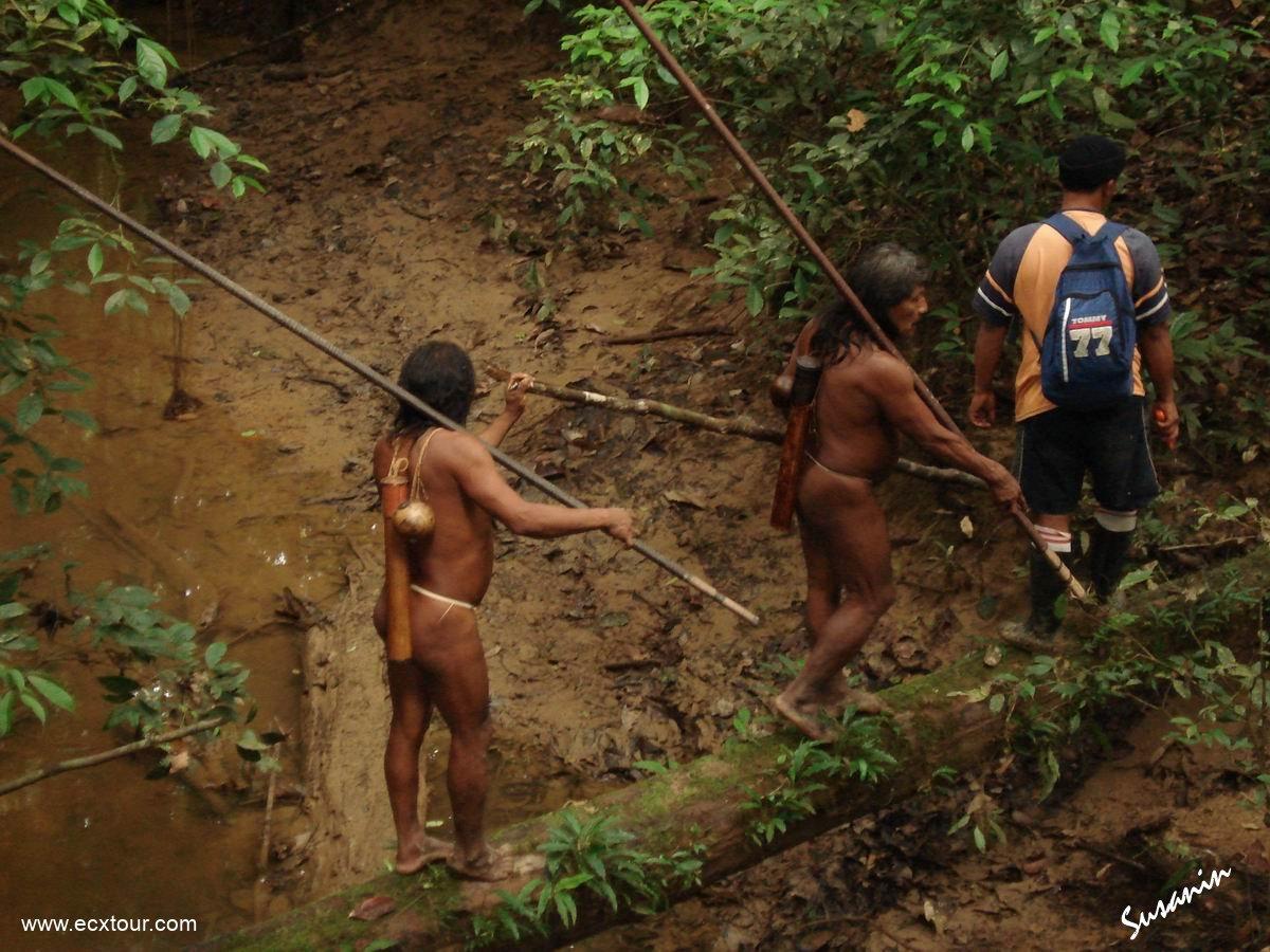 Секс индейцами в джунгли 1 фотография